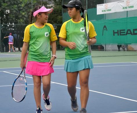 Việt Nam có 3 đơn, 2 đôi vào bán kết quần vợt U.14 châu Á